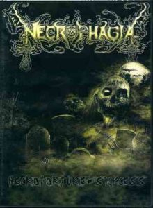 NECROPHAGIA - NECROTORTURE / SICKCESS (DVD)