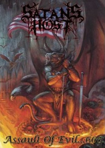 SATAN'S HOST - ASSAULT OF EVIL... 666 (DVD)