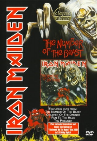 IRON MAIDEN - CLASSIC ALBUMS: THE NUMBER OF THE BEAST (DVD)