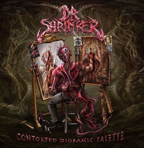 DR. SHRINKER - CONTORTED DIORAMIC PALETTE (AUTOGRAPHED CD)