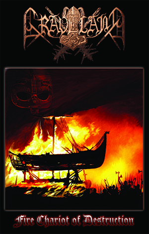 (PRE-ORDER) GRAVELAND - FIRE CHARIOT OF DESTRUCTION (CASSETTE)