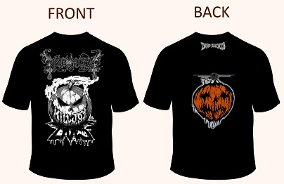 "NECROPHAGIA - KILLJOY TRIBUTE SHIRT ""PUMPKIN\"" (SIZE XXL)"