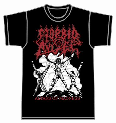 MORBID ANGEL - ALTARS OF MADNESS (L SHIRT)