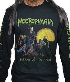NECROPHAGIA - SEASON OF THE DEAD (LONG SLEEVE MEDIUM)
