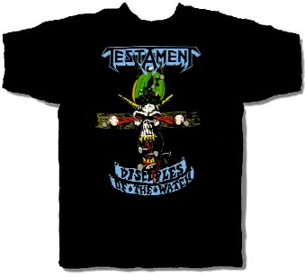 TESTAMENT - DISCIPLES OF THE WATCH (L SHIRT)