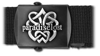 PARADISE LOST - CELTIC KNOT & LOGO (WEB BELT)