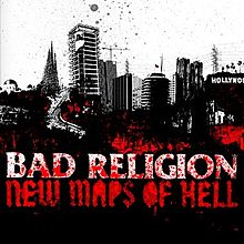 BAD RELIGION - NEW MAPS OF HELL (USED CD)