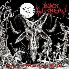 BLACK WITCHERY - UPHEAVAL OF SATANIC MIGHT LP (VINYL)