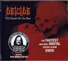 DEICIDE - TILL DEATH DO US PART SLIPCASE W/ PATCH (CD)