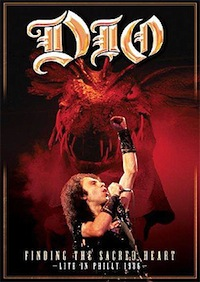 DIO - FINDING THE SACRED HEART LIVE IN PHILLY 1986 (DVD)