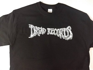 DREAD RECORDS LOGO SHIRT (LARGE)