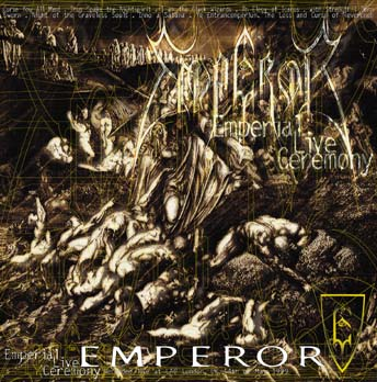 EMPEROR - EMPERIAL LIVE CEREMONY (USED CD)