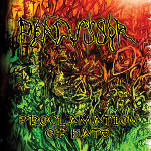 PERCUSSOR - PROCLAMATION OF HATE (CD)