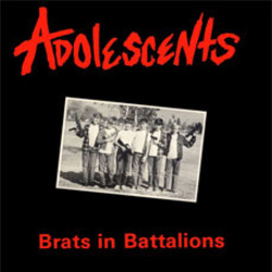 ADOLESSCENTS - BRATS IN BATTALIONS (USED CD)